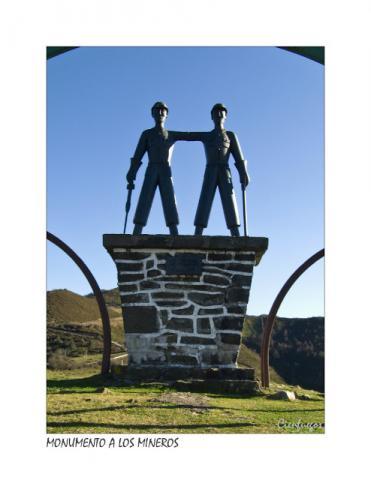 Monumento al minero. LA COLLADIELLA.